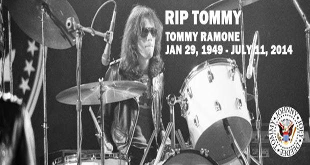 Adios Amigos: Morre Tommy Ramone (1949 – 2014)