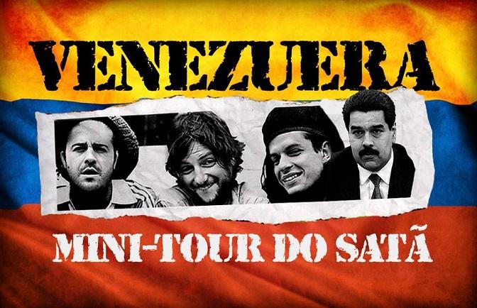 Lomba Raivosa lança documentário sobre tour na Venezuela