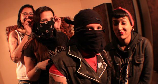 Ratas Rabiosas e o punk feminista em ação
