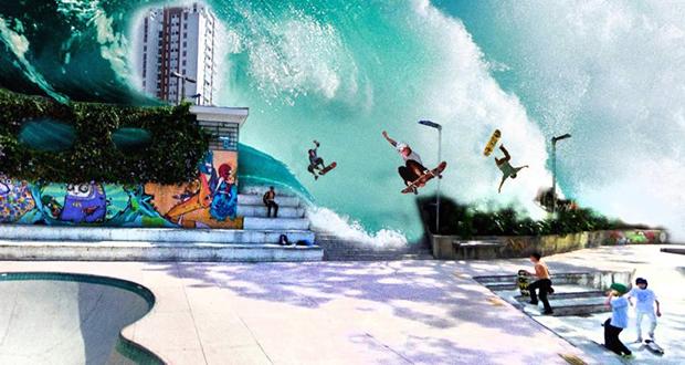 Tsunami Skate Fest no Parque Zilda Natel