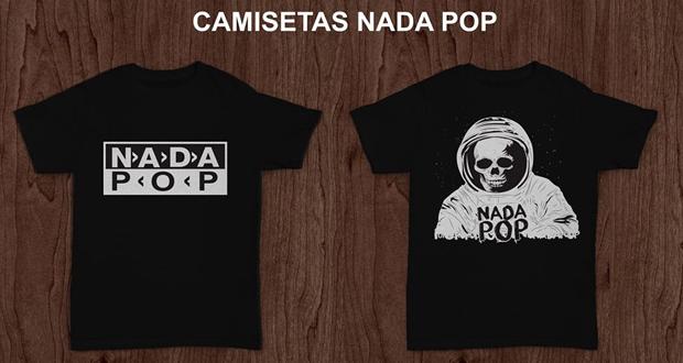 Compre a sua camiseta do Nada Pop