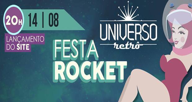 Festa de lançamento do site Universo Retrô