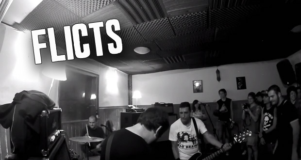 Assista o show do Flicts no Studio UK