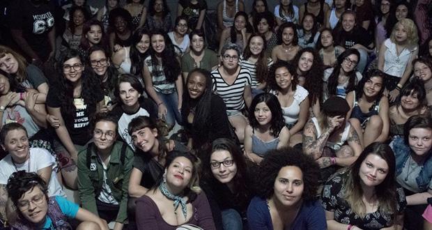 Empoderamento feminino no punk foi tema de evento realizado no Rio de Janeiro