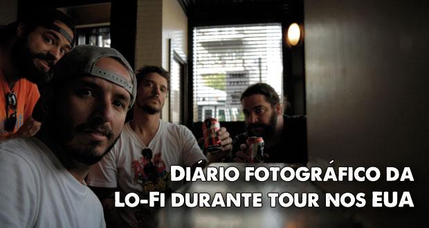 Lo-Fi: Confira o registro feito pela banda durante tour nos EUA