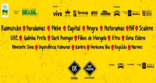 Festival Porão do Rock chega à 18ª edição neste sábado – Confira a programação
