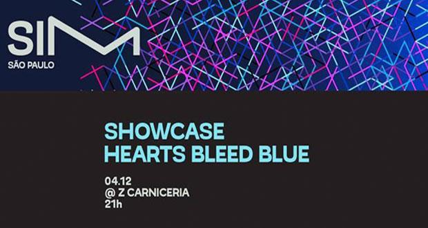 SIM SÃO PAULO anuncia noite de showcases da gravadora Hearts Bleed Blue