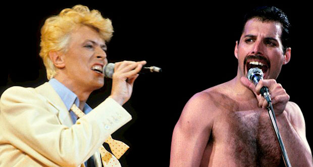 """Ouça """"Under Pressure"""" nas vozes isoladas de David Bowie e Freddie Mercury"""