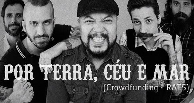 Os cariocas do RATS lançam campanha de crowdfuning e preparam seu primeiro full