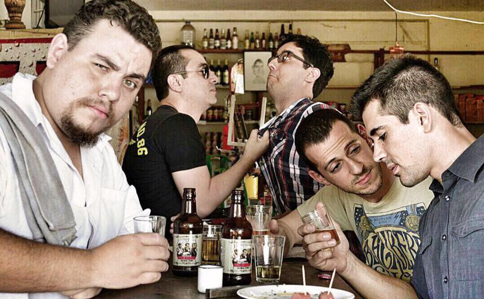 Woolloongabbas e suas novas canções combinam com um balcão de bar