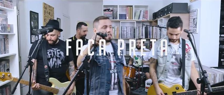 HBB Live Sessions traz em novo episódio a banda Faca Preta