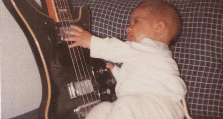 Músicos e produtores mostram suas fotos de quando eram crianças
