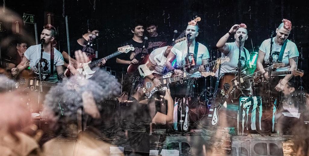 Banda pata - Foto por Priscila Santos